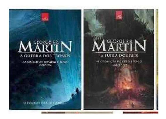 As Crônicas De Fogo E Gelo-livro 1 E 2