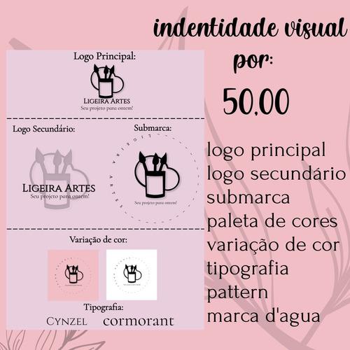 Imagem 1 de 5 de Logomarca/indentidade Visual