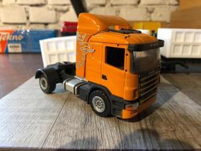 Miniatura Caminhão Scania R 124 Escala 1/50