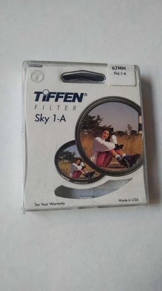 Filtro De Proteção 67mm Original Tiffen Sky 1a