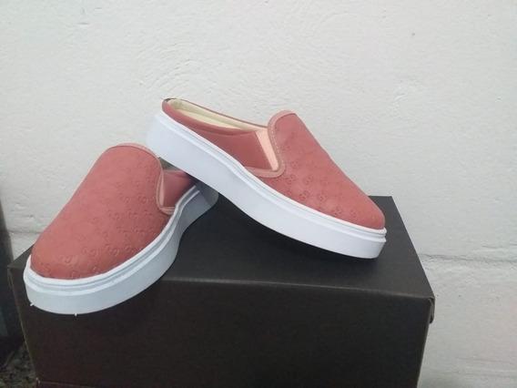 Tênis Sapato Oxford Feminino Slip On Oferta Preço Especial