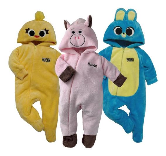 Kit 3 Mamelucos Disney Timon, Pua, Winnie Pooh A Precio De 2