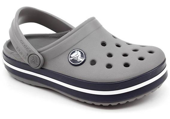 Crocs Infantil Crocband Kids Cinza