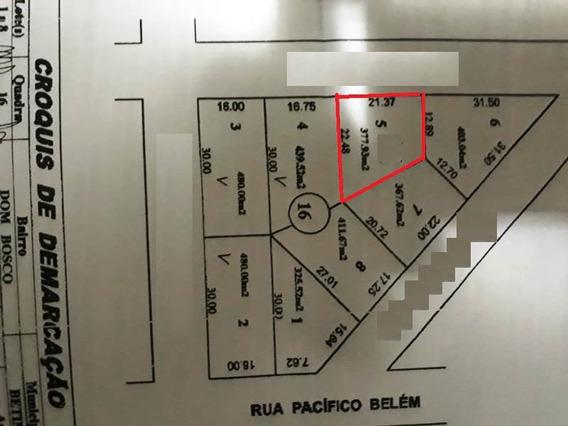Vendo Excelente Lote No Bairro Dom Bosco Na Cidade De Betim! - 1269