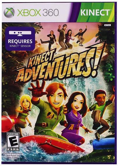 Kinect Adventures Xbox 360 Jogo Original Mídia Física
