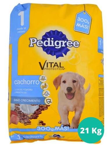 Alimento Pedigree 21 Kg Para Cachorros