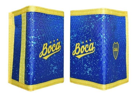 Billetera Solci Boca Juniors Licencia Oficial Rc Deportes