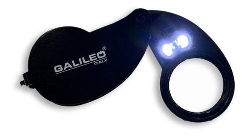 Imagen 1 de 3 de Lupa Galileo Alta Graduación Luz Led Y Luz Led Uv 40x 25mmø