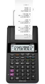 Calculadora De Mesa Bobina Bivolt Preta Hr-8rc Casio