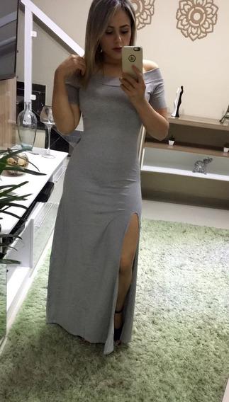Vestido Fenda Longo Atacado Varejo Roupas Femininas Moda