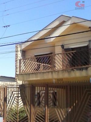 Sobrado Residencial À Venda, Vila Camilópolis, Santo André. - So19099