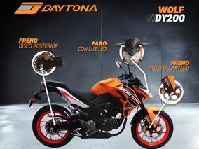 Moto Daytona Wolf Dy200 200cc 2019