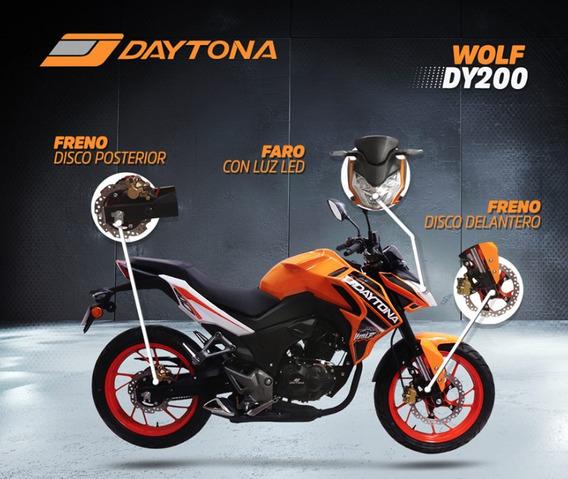 Moto Daytona Wolf Dy200 200cc 2019 Gratis Matricula+casco