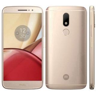 Smartphone Motorola Moto M Xt1663 4ram 32gblte Dual Dourado
