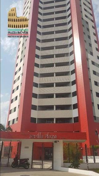 Apartamento Com 3 Dormitórios Para Alugar, 93 M² Por R$ 1.300/mês - Centro - Sorocaba/sp - Ap0082