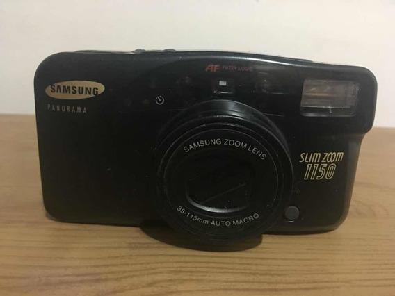Câmera Fotográfica Samsung Panorama Slim Zoom 1150 No Estado