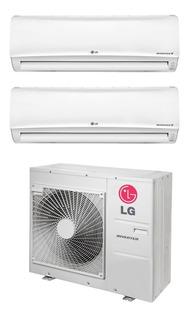 Aire Multisplit LG Inverter 2a1 3000fg + 3000fg Frio/calor