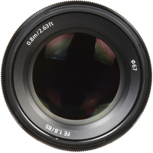 Lente Sony Fe 85mm F/1.8 (sel85f18) Garantia Novo