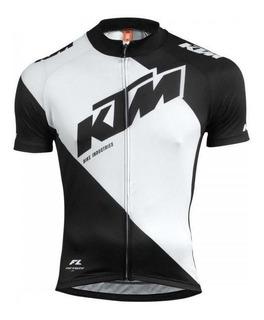 Remera / Jersey M/corta Ciclismo Ktm Factory Line Oficial