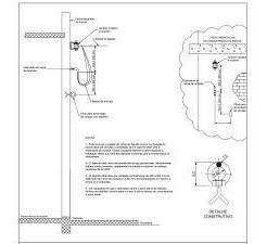 Imagem 1 de 2 de Projeto De Coluna  Ou Fachada 200 Dan - Enel - Edp - Elektro