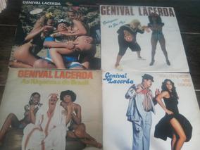 Lps Lote Com 4 Discos Genival Lacerda