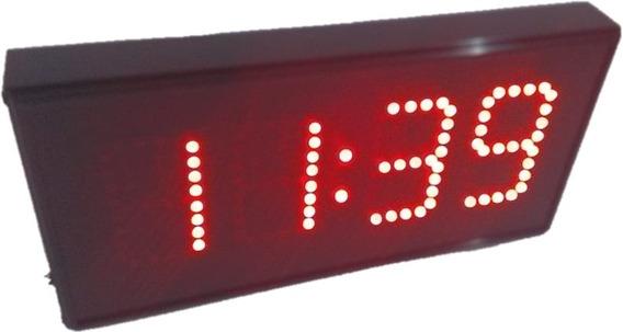 Reloj Digital Leds Cronómetro, Turnador, Control Remoto