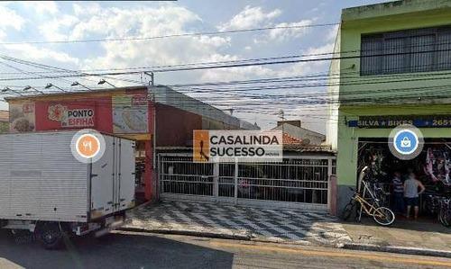 Casa Com 3 Dormitórios Para Alugar, 180 M² Por R$ 3.000,00/mês - Vila Dalila - São Paulo/sp - Ca6221