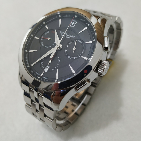 Reloj Victorinox Alliance Chronograph Black 44 Mm