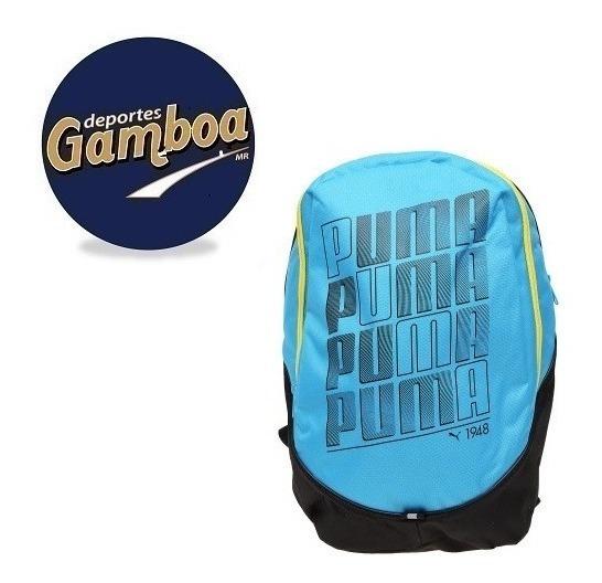Mochila Puma Backpack Celeste