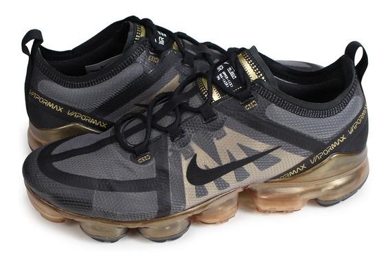 Vapormax 2019 Dourado Flykniti Nike Lançamento Original
