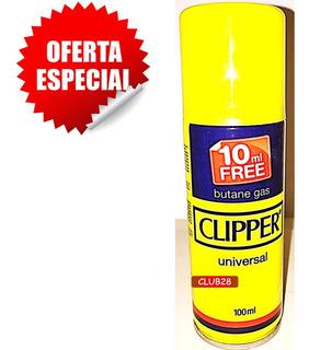 Gas Butano Recarga Clippers Flameador Zippo Sopletes Cocina