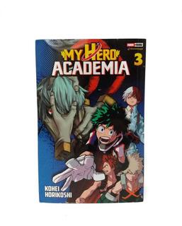 My Hero Academia Tomo 3 Manga Panini Original En Español