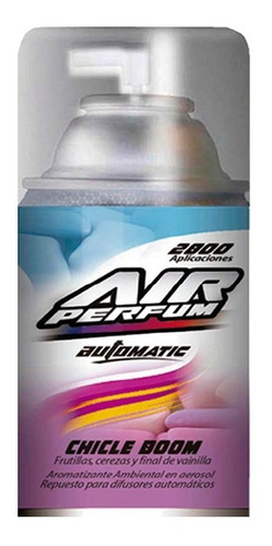 Repuesto Aromatizante Automático En Aerosol Chicle Boom