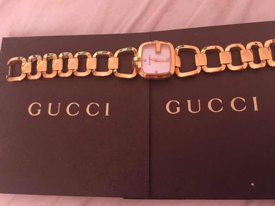 Relógio Gucci Com 3 Diamantes