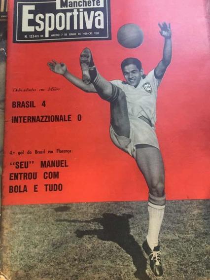Revista Manchete Esportiva N° 133 7 Junho 1958