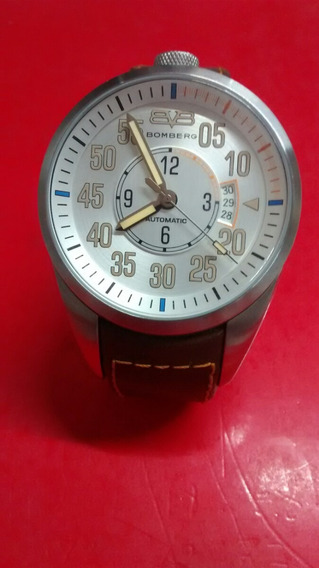 Reloj Bomberg Silver Luminova