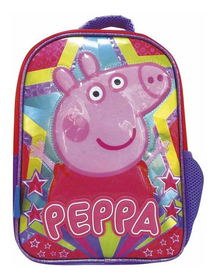 Mochila Peppa Pig 12 Pulg Escolar Cresko Originales Pp497