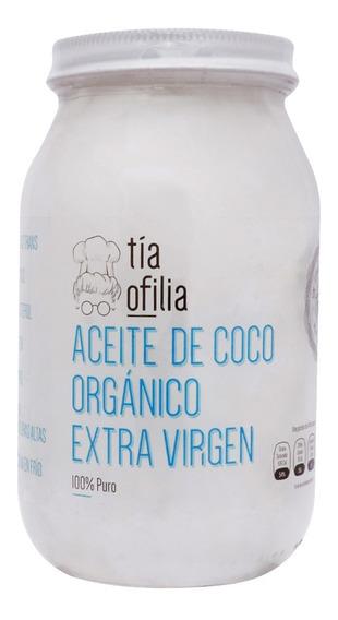 Aceite De Coco Organico Tia Ofilia 473 Ml