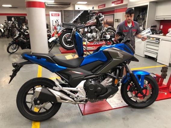 Moto Honda Nc 750 Stock Modelo 2020 Color Azul Entrega Ya