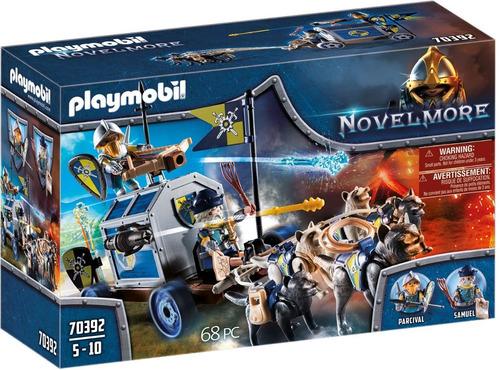 Playmobil Novelmore 70392 - Transporte Del Tesoro Caballeros
