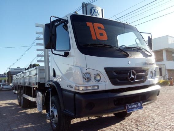 Mb 1316 Accelo Truck (6x2) Ano 2016/16 Impecável / Baixo Km