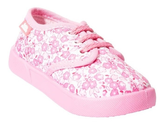 Tenis Casual Bubble Gummers Niña Rosa Textil Empire