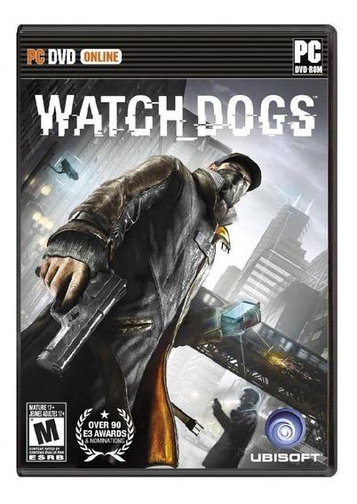 Jogo Novo Midia Fisica Watch Dogs Original Pra Pc Computador