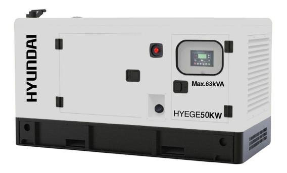 Generador De Luz 50 Kw 80 Hp Hyundai Hyege50kw Envío Gratis