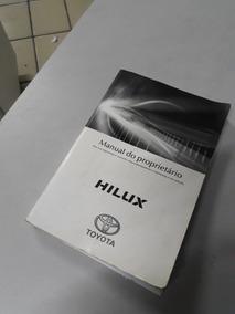 Manual Do Proprietário Hilux 2016/2017