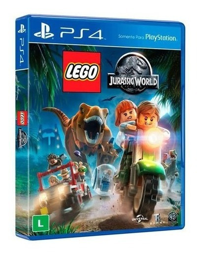 Lego Jurassic World Ps4 Novo Original Lacrado