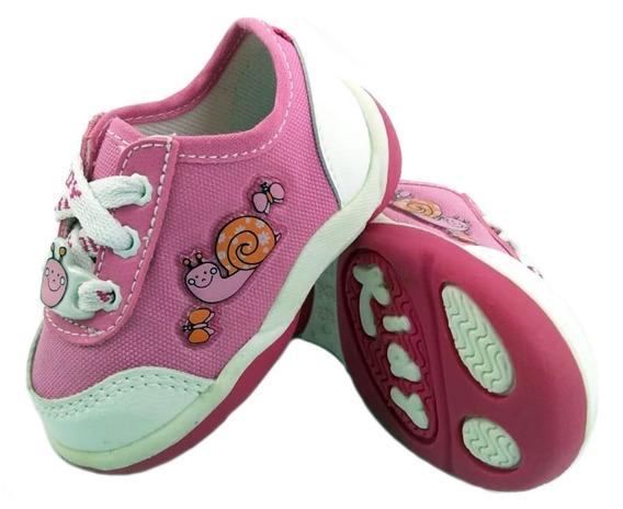 Zapatillas Kidy Tenis Colors Rosa Urbana Niñas Empo2000
