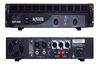 Amplificador Potencia Soundxtreme Sxp 400 Uso Pro 800w Cjf