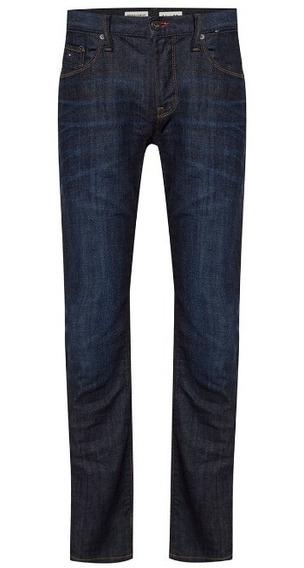 Tommy Hilfiger Jeans Denton Azul, Straight Leg, Nuevo Import