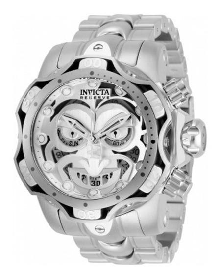 Relógio Invicta Coringa Joker Todo Em Aço Edição Limitada